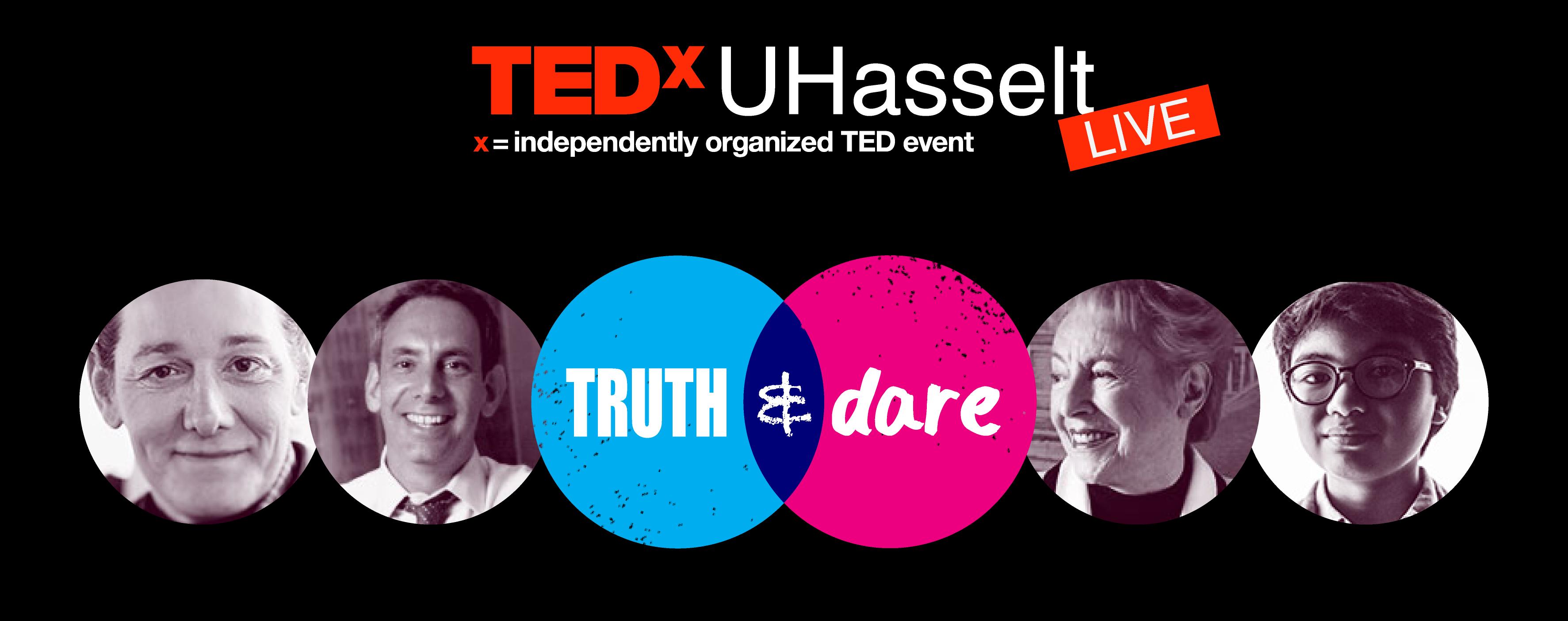TEDxUHasseltLive Banner